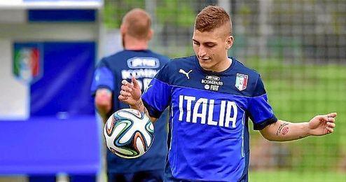 Verratti se une a la baja de Marchisio para Italia.