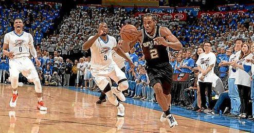 Los Spurs vuelven a tomar ventaja ante los Thunder.