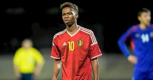 Musonda sueña con jugar la Eurocopa con Bélgica.