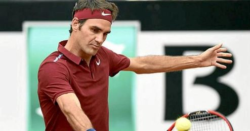 Roger Federer no pudo con Dominic Thiem.