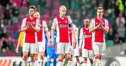 Milik, delantero del Ajax.