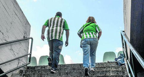 Ante el Getafe, último partido del histórico Gol Sur.