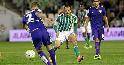 Leandro Damiao, en una de sus pocas apariciones con el Betis.