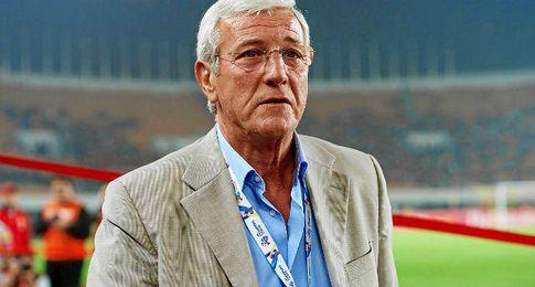 El exseleccionador de Italia, Marcello Lippi.