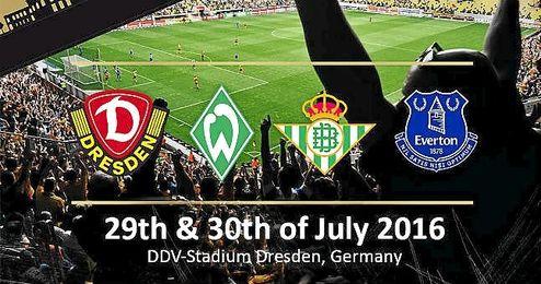 Cartel de la �Dresden Cup 2016�.