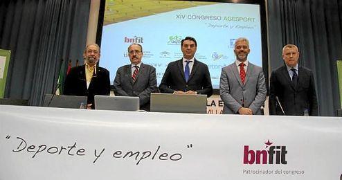 Inauguración del XIV Congreso de la Asociación Andaluza de Gestores del Deporte.