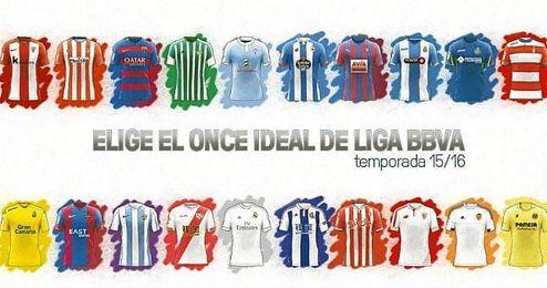Iniciativa de LaLiga para que los aficionados elijan a los mejores jugadores del curso.