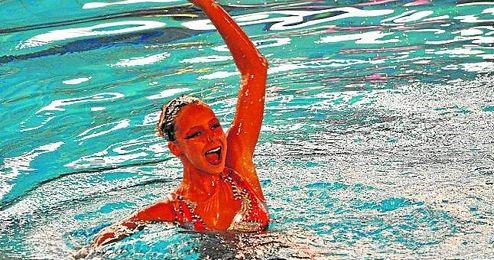 Alisa Ozhogina Ozhogin, de nataci�n sincronizada, ha conseguido, pese a su juventud, varios primeros puestos en diferentes campeonatos.