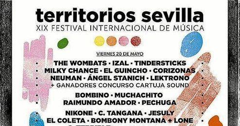 Territorios Sevilla cancela su edición de 2016.