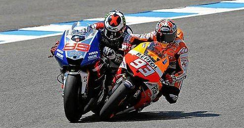 Pol Espargaró (Yamaha) y Héctor Barberá (Ducati) buscarán continuar sumando puntos para afianzarse entre los ocho mejores del Mundial.