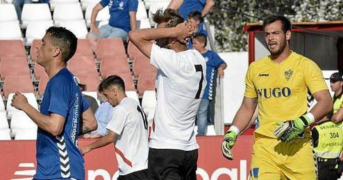 Imagen del partido entre Sevilla Atlético y Socuéllamos.