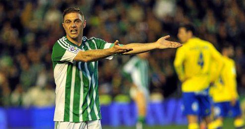 Joaquín Sánchez, durante el partido contra Las Palmas.