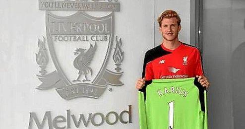 Karius, nuevo portero del Liverpool.