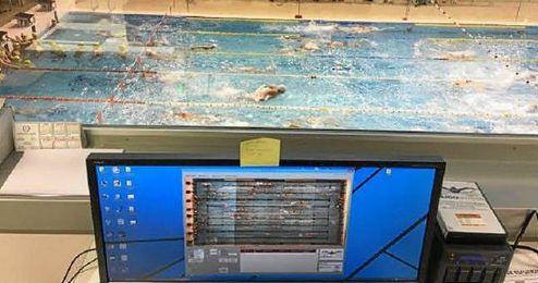 El sistema se ha estrenado en la piscina de la Facultad de Ciencias del Deporte de la UGR.