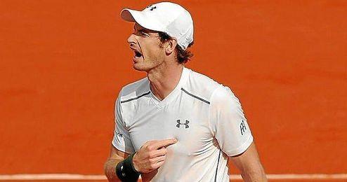 El británico mantuvo un hilo de vida para no tirar el partido ni todas las esperanzas de este Roland Garros.