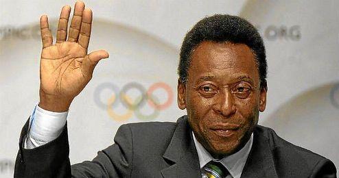 Pelé va con el Madrid en la final de la Champions.