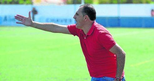 Jos� Antonio Granja, durante un partido.