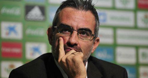 El valenciano, en su etapa en el Real Betis.