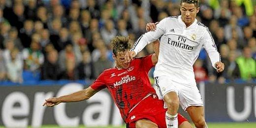 Real Madrid y Sevilla se enfrentaron en la Supercopa de Europa 2014/15.