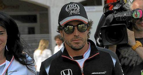 """Alonso, """"contento"""" con su quinto puesto en Mónaco."""