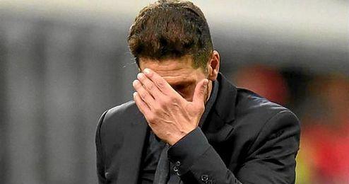 Muy autocr�tico se mostr� Simeone tras el partido.