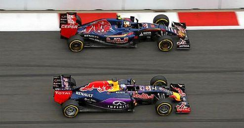 Red Bull lleg� incluso a amenazar con su retirada de la F�rmula 1 si no lograban estar al nivel.