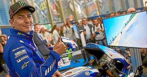 """Lorenzo llega al gran premio """"de casa"""" con buenas sensaciones después de la victoria en Mugello."""