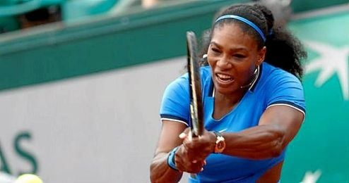 Serena Williams en Roland Garros.