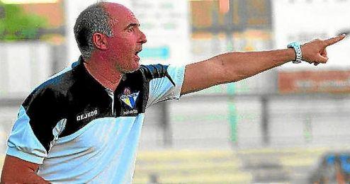 Garrido, durante su etapa en el Écija.