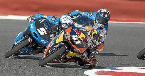 Binder saldrá en primera posición en el GP de Catalunya.