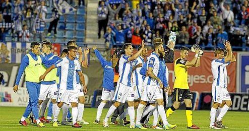 El Leganés jugará en la Liga BBVA.
