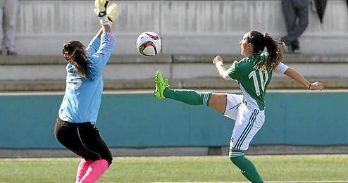 Imagen de archivo de un partido del Betis Féminas esta temporada.