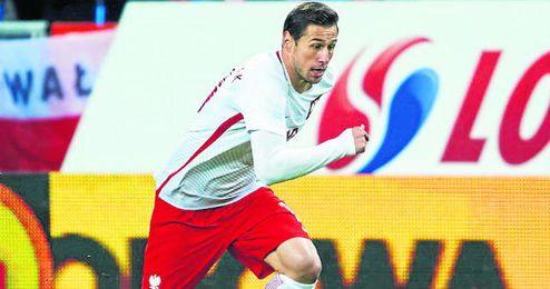 Krychowiak ya tiene olvidada la lesión que sufrió en la final de la Copa del Rey.