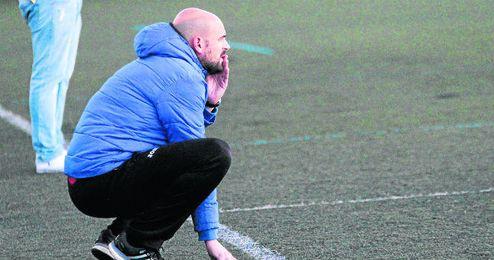 Sergio Moguer, entrenador de La Liara.