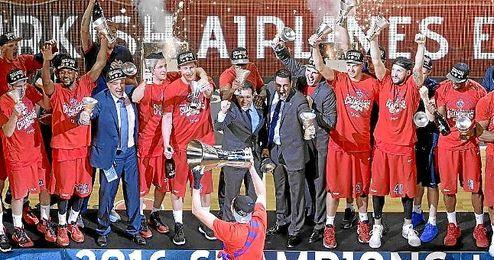 El CSKA ha conseguido un doblete esta temporada