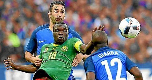 Rami, durante el amistos ante Camerún.