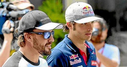 Alonso y Sainz esperan volver a puntuar en el G.P. de Canadá.
