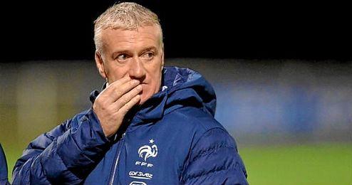 """Deschamps señaló a Alemania y España como selecciones """"a tener en cuenta""""."""