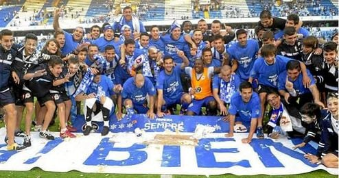 Último ascenso del Deportivo de la Coruña.