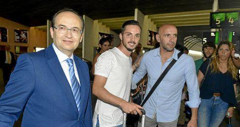Sarabia es el primer fichaje del verano para el Sevilla.