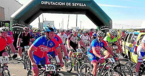 208 ciclistas se dieron cita en Almensilla.