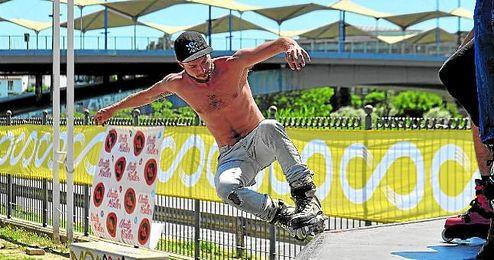 Una fiesta del 'skate' en Plaza de Armas