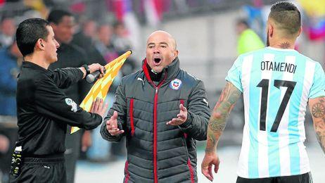 Sampaoli, como seleccionador de Chile.