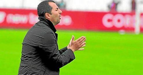 Diego Martínez, técnico del Sevilla Atlético.