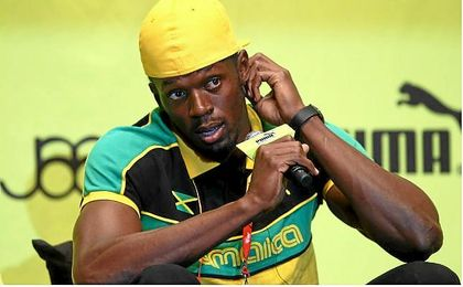 Bolt, durante un evento.