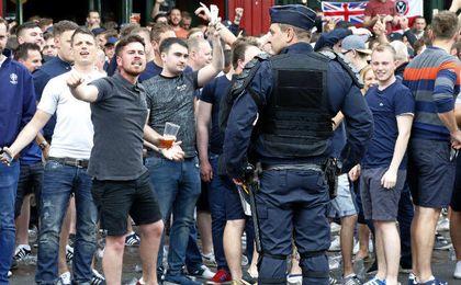 Múltiples han sido los altercados protagonizados por los ultras desde el inicio de la Euro 16.