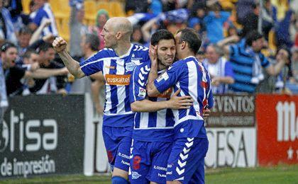 Dani Pacheco ha jugado en el Alavés la pasada temporada.