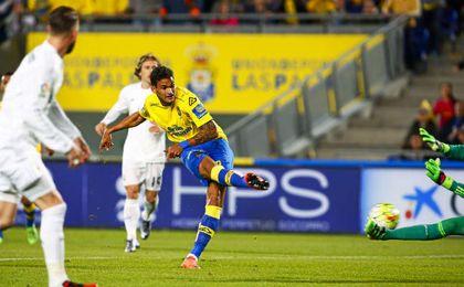 Willian Jos�, delantero de Las Palmas.