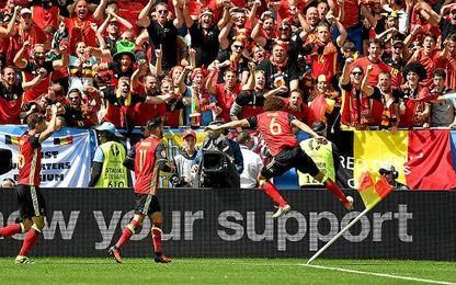 3-0. Bélgica responde con goles a las críticas