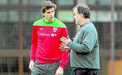 Llorente brilló con Bielsa en la 11/12, aunque tuvieron sus roces en la campaña siguiente.
